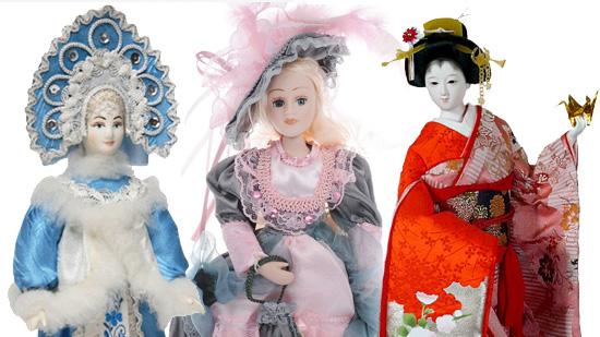 Сувенирные куклы